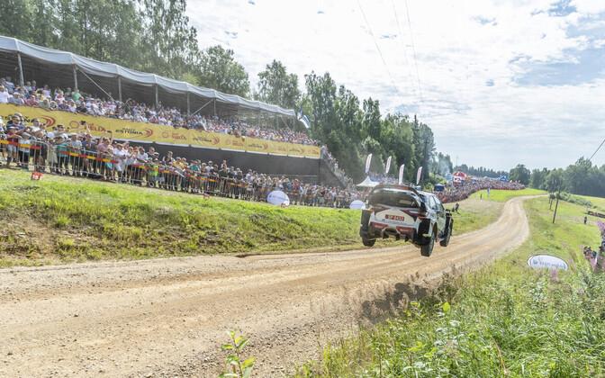 Ott Tänak ja Ott Järveoja Rally Estonial