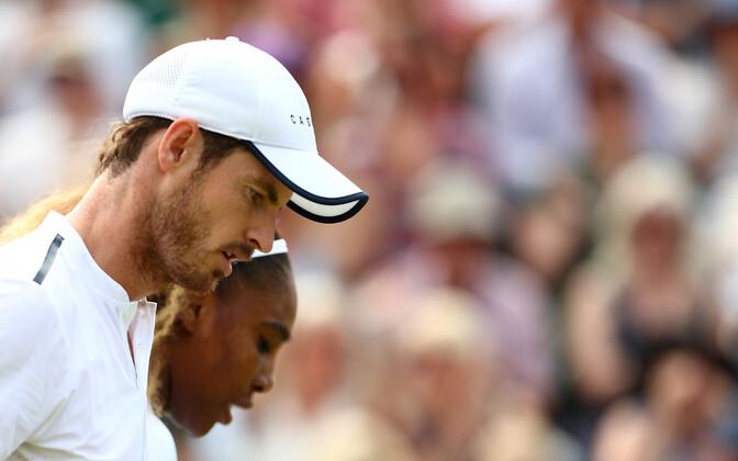 Andy Murray ja Serena Williams