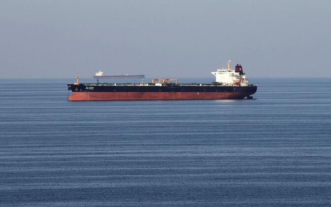 Naftatankerid Hormuzi väinas.