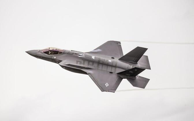 Ämari air show brings F-35 stealth fighter to Estonian skies