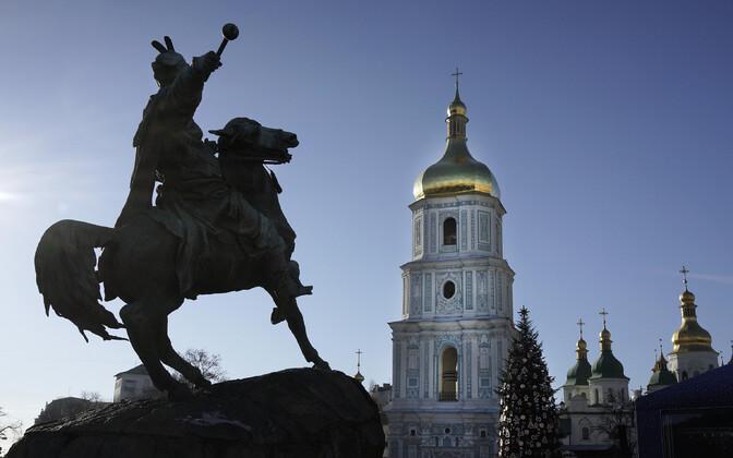 Püha Sofia katedraal Kiievis.