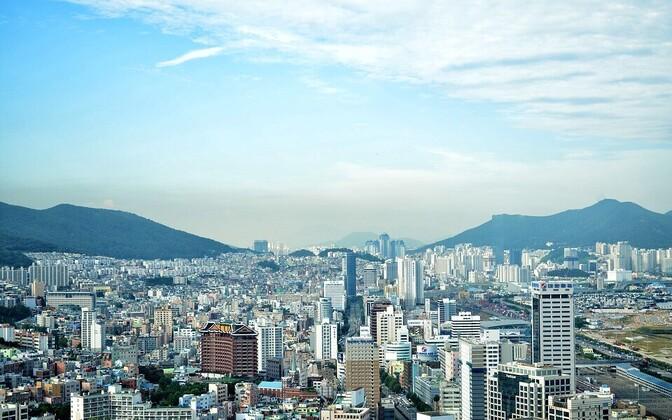 Пусан - второй по величине город Южной Кореи после Сеула.