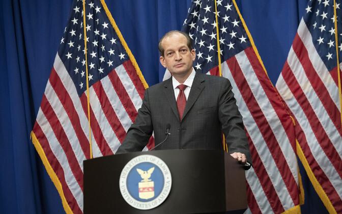 USA tööminister Alexander Acosta.