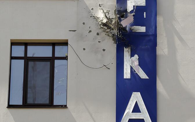 Telekanali 112 hoone Kiievis 13. juulil.