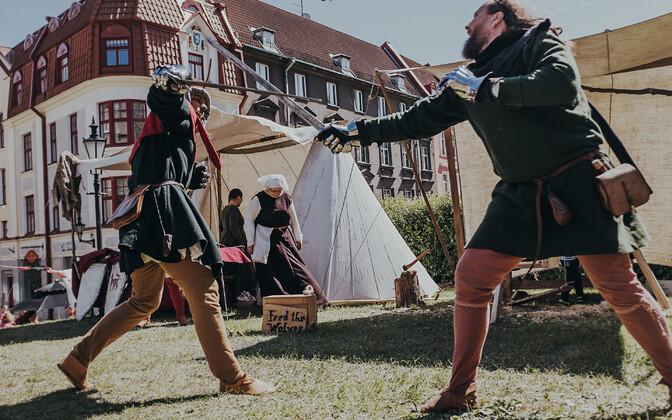 Medieval Days in Tallinn.