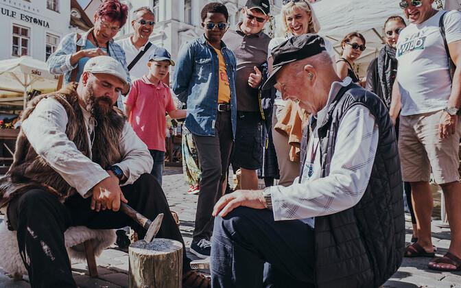 Дни Средневековья в Старом Таллинне.