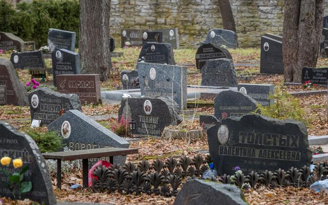 На кладбище Сизелинна новых мест для захоронения уже нет.