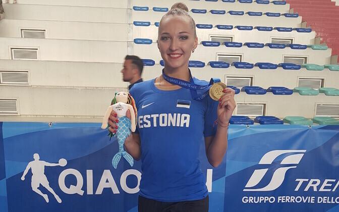 Виктория Богданова впервые завоевала медаль на международной арене.