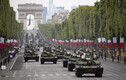 14. juuli paraad Pariisis.