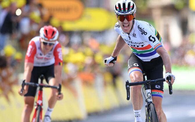 Daryl Impey Tour de France'i üheksanda etapi finišis