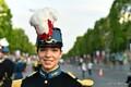 Nooremleitnant Emma 14. juulil Pariisis.