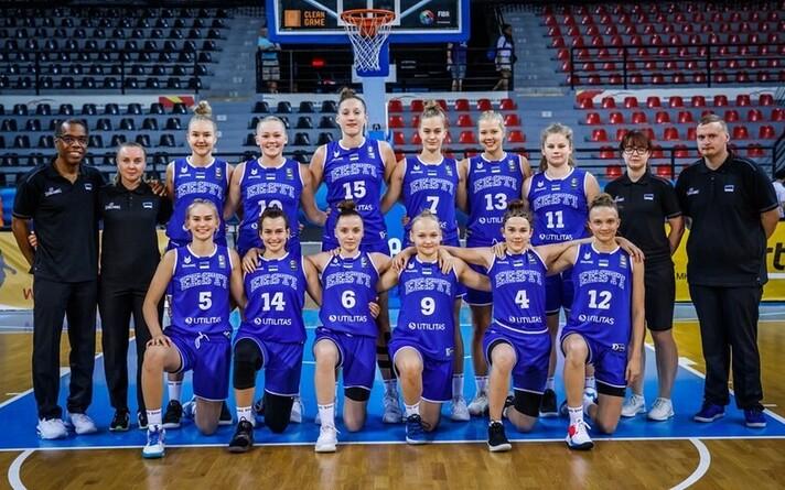 Eesti neidude U-18 korvpallikoondis
