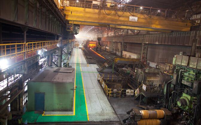 Сталелитейный завод в Шанхае.