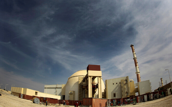 Bushehri tuumajaam Iraanis.