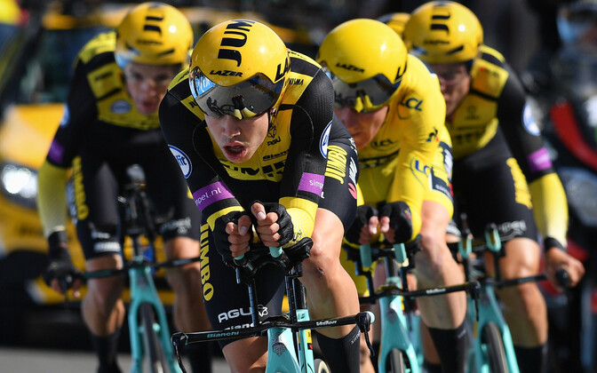Jumbo-Visma meeskond Tour de France'il