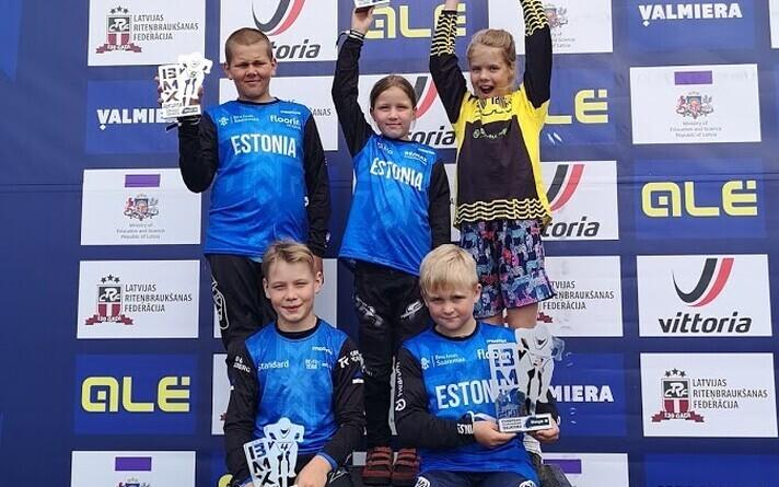 Eesti BMX krossiratturid võtsid EM-ilt kuus finaalikohta