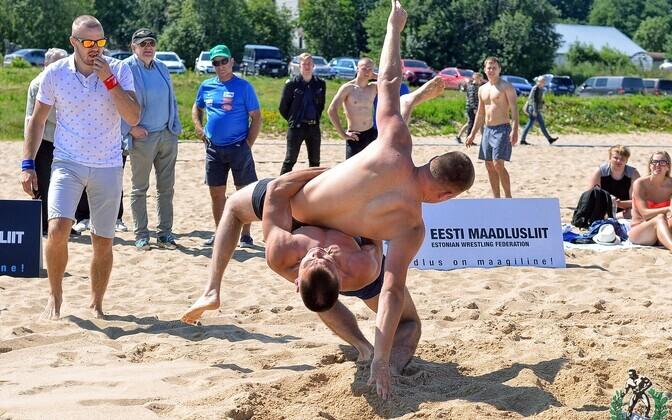 Eesti meistrivõistlused rannamaadluses