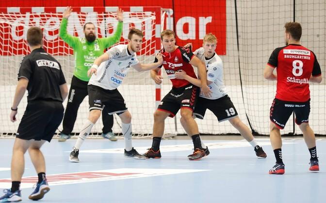 Mullu ei pääsenud Eesti meister Põlva Serviti eurosarja avaringist edasi, Šveitsi klubi BSV Bern oli napilt parem.