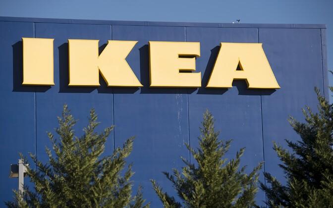 Ikea mööbliladu Virginias.