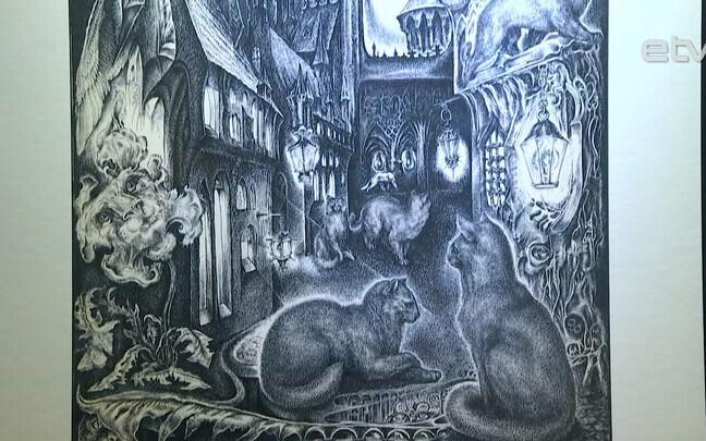 Выставка картин Алексея Туровского.
