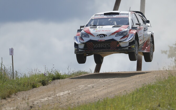 Ott Tänak Rally Estonial
