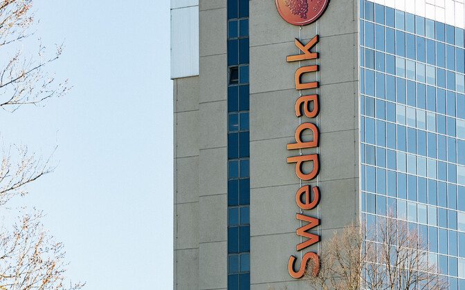 Headquarters of Swedbank's Estonian branch in Tallinn.