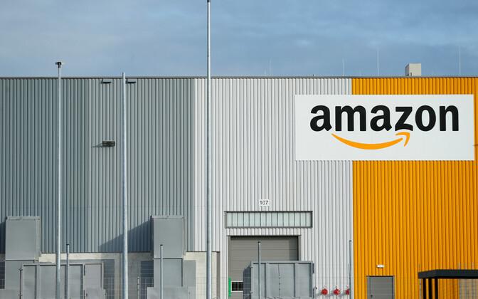 Amazoni logistikakeskus Dortmundis.