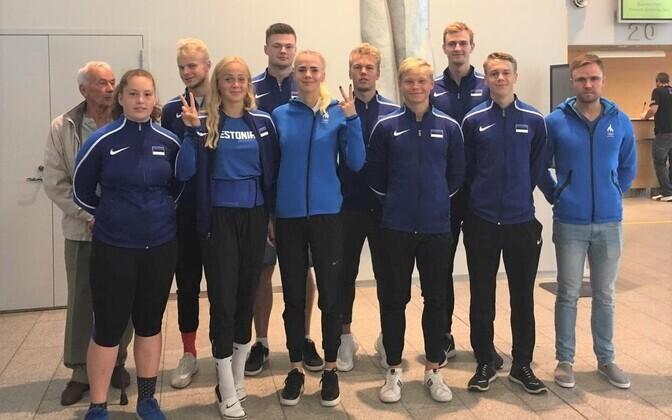 Eesti U-20 kergejõustikukoondis