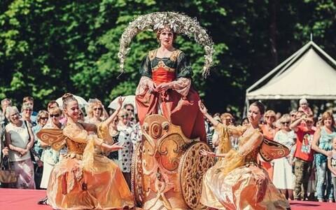 Празднование 300-летия парка Кадриорг в 2018 году.