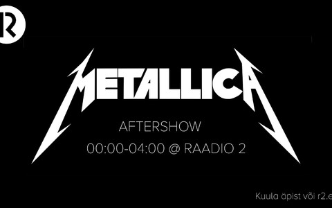 """Metallica aftershow"""