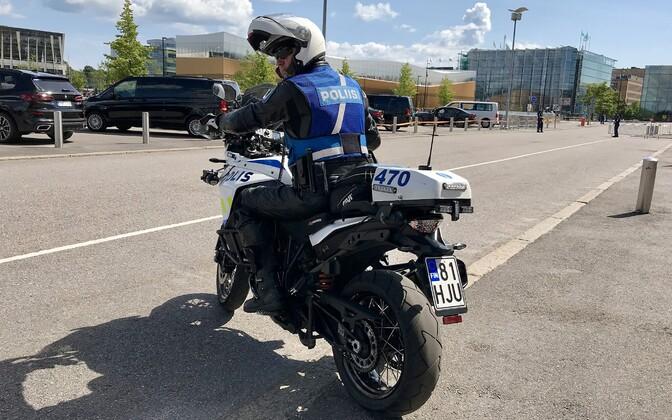 Soome liikluspolitseinik.