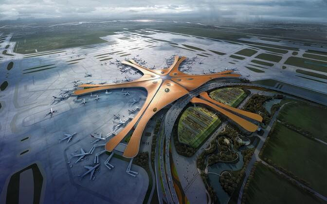 Пекинский международный аэропорт Дасин.