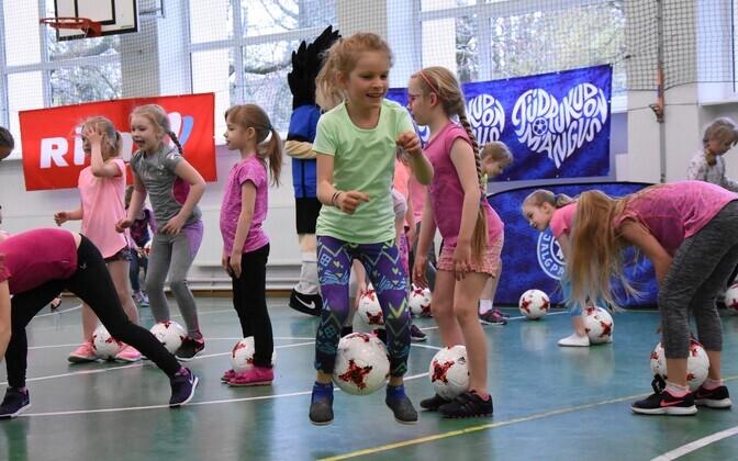 Rimi jalgpallifestival tüdrukutele
