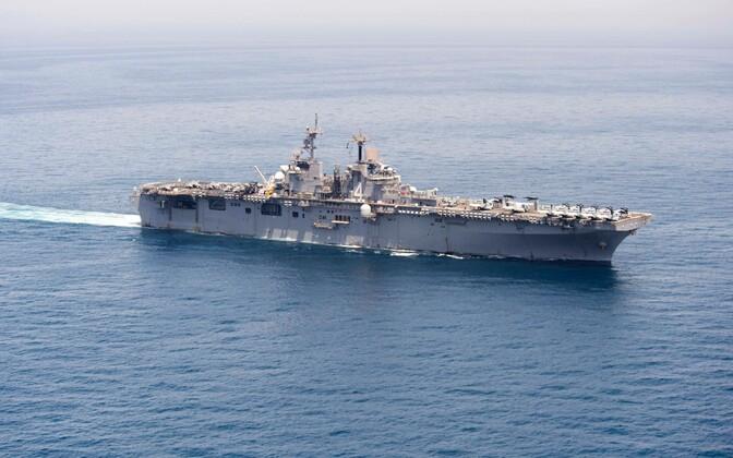 Универсальный десантный корабль ВМС США Boxer.