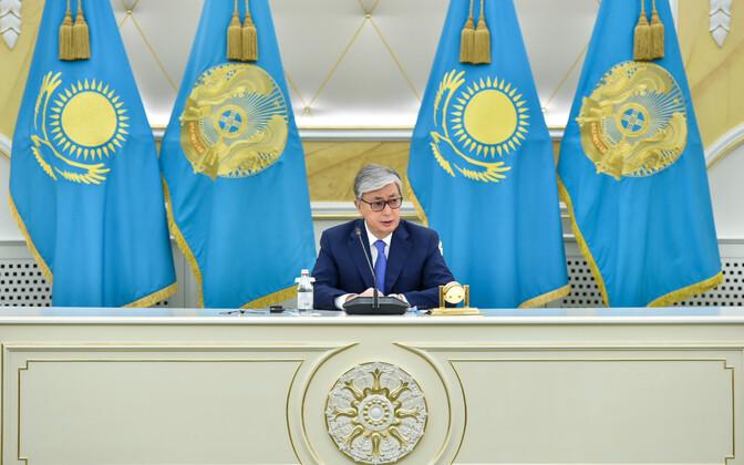 Kasahstani president Kassõm-Žomart Tokajev.