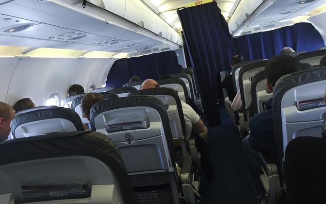 Салон самолета. Иллюстративная фотография.