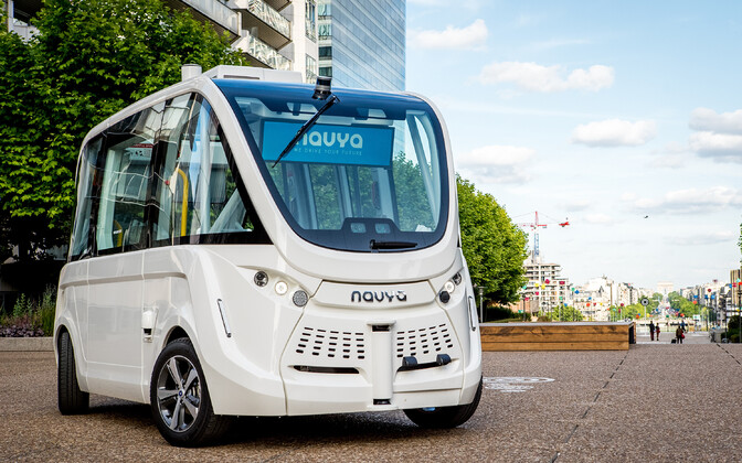 Navya driverless bus. Photo is illustrative.