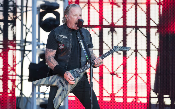 Metallica performing at Raadi Airfield in Tartu. July 18, 2019.