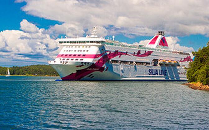 Turu-Stockholmi liini teenindav Baltic Princess.