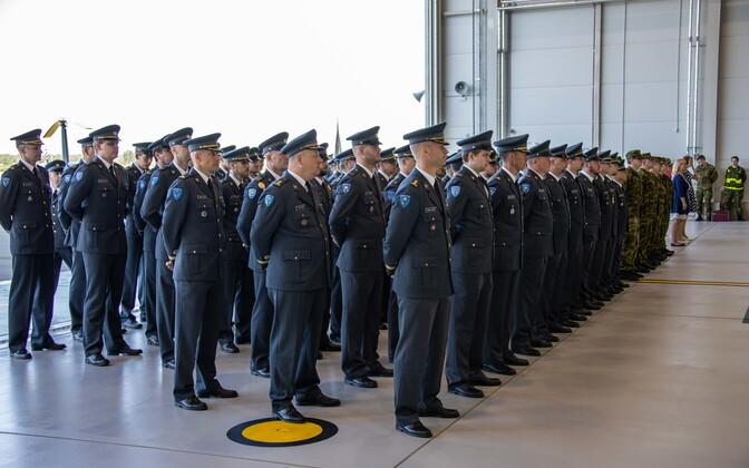Смена командующего ВВС Эстонии.