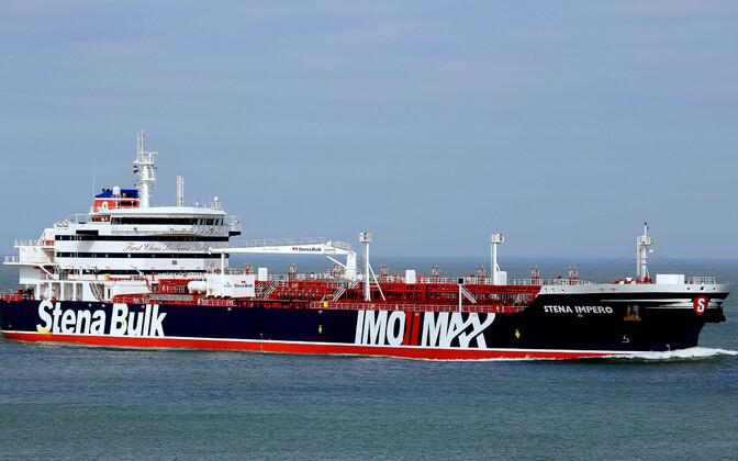 Tanker Stena Impero.