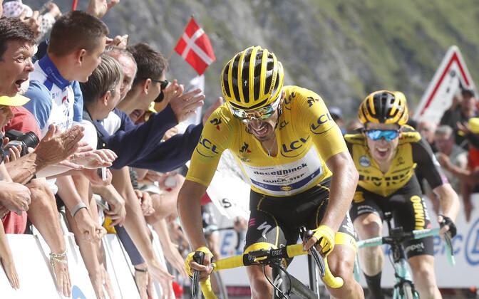 Julian Alaphilippe Tour de France'i 14. etapil