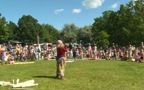 Rõõmsate laste festival Pärnus.