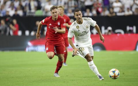 Eden Hazard Madridi Reali sõprusmängus Müncheni Bayerni vastu
