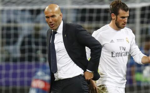 Zinedine Zidane ja Gareth Bale