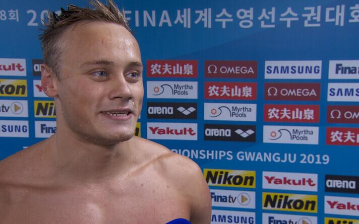 Эстонский пловец Даниэль Зайцев прошел в полуфинал ЧМ по плаванию.