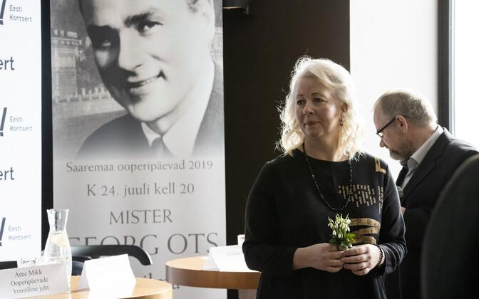 Saaremaa ooperipäevad teevad kummarduse Georg Otsale