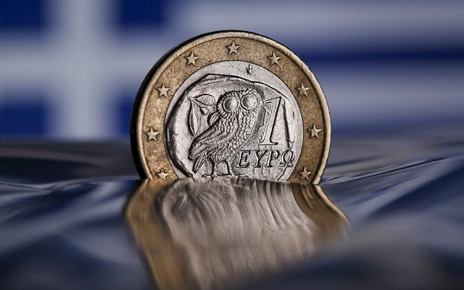 Kreeka euromünt.