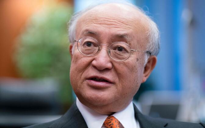 IAEA juht Yukiya Amano.