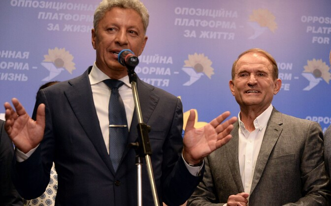 Юрий Бойко и Виктор Медведчук.